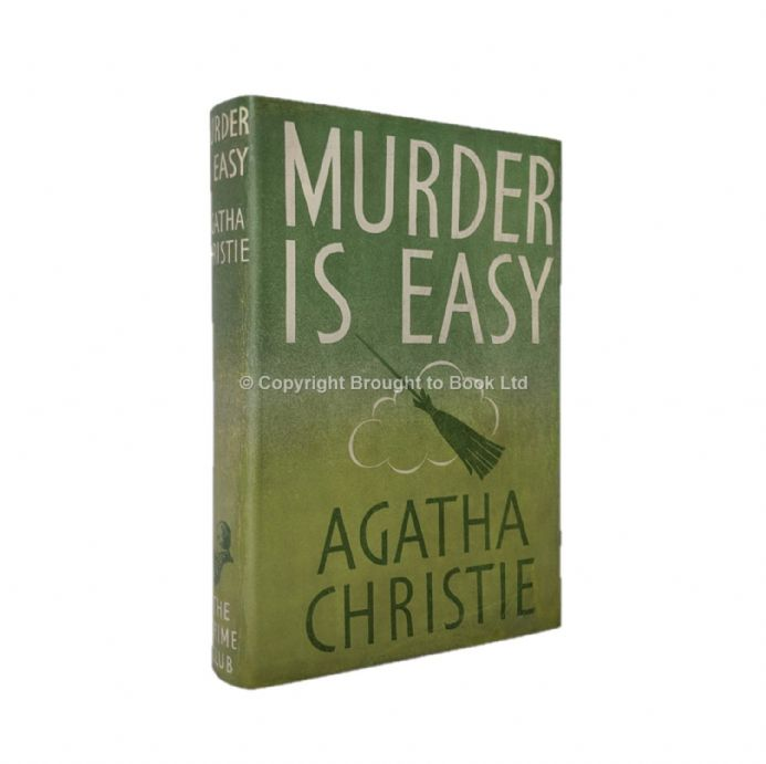 Murder is Easy Agatha Christie First Edition The Crime Club by Collins 1939